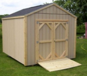 Gable Style Shed 8 x 8