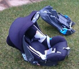 Britax First Stage Baby Car Seat & 2 Bases