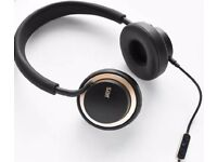 U-Jays Headphones Black And Gold edition- Made For iOS. - New and Sealed.