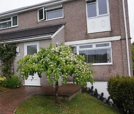 Three Bedroom Semi detached house for Rent, Derriford, Plymouth £800 PCM, Unfurnished.