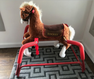 PLUSH & COMFY SPRING HORSE IN EXCELLENT CONDITION!!