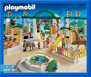 c ...playmobil ; Zoo, animaux, safari