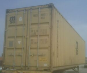 Used Steel Storage Containers / Steel Shipping Containers