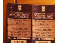 Birmingham city fc vs Ipswich 29/09/18
