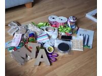Asortment of craft items/accesseiries