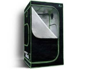 BRAND NEW 1mx1mx2m Grow Tent Kits Hydroponics Indoor Reflective