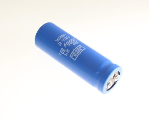 2x 18000uF 16V Snap In Mount Electrolytic Capacitor Volts 18000mfd 16VDC 18,000