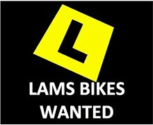 LAMS Bikes Wanted Stepney Norwood Area Preview