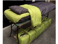 4 piece camping bed set