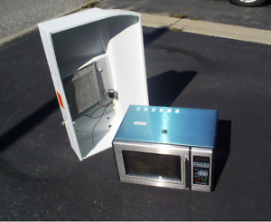 AIR-KING  Electric Exhaust fan  & Microwave Oven