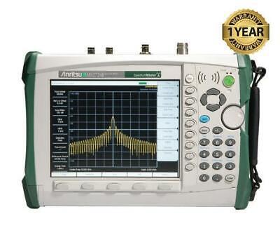 Anritsu Ms2724b Handheld Spectrum Master Analyzer W Options 252731 Ms2724