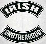 Irish Biker Patches