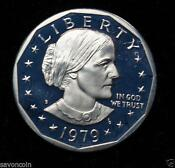 Susan B Anthony Dollar 1979 s Proof Type 2