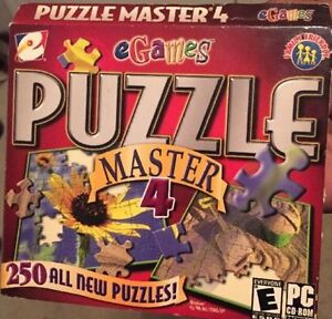 Puzzle Master 4 - 2003 - PC - BRAND NEW - $5.00