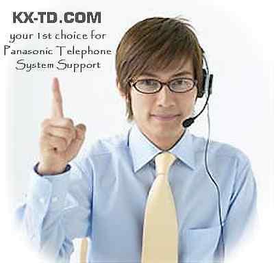 Panasonic Kx-tda600 Technical Support