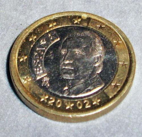2002 1 euro coin ebay. Black Bedroom Furniture Sets. Home Design Ideas