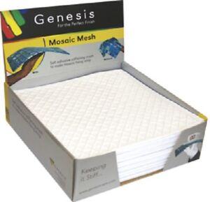 Genesis Mosaic mesh self adhesive high grab stiffening backer sheet - Per Sheet