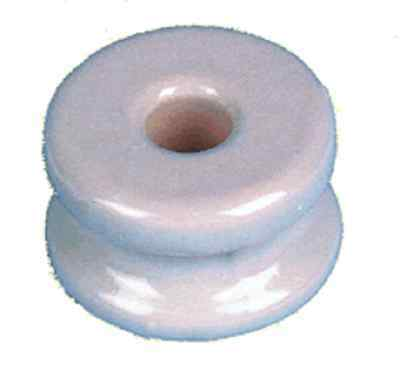Heavy Duty Porcelain Corner Insulator For Electric Fence On Wood Posts 50pk