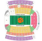 Clemson Clemson Memorial Stadium Sports Tickets