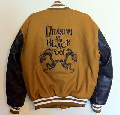 DRAGON OF THE BLACK POOL EMBROIDERED JACKET BIG TROUBLE IN LITTLE CHINA WANG CHI