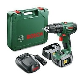 Bosch PSB 1800 LI-2 Cordless Combi Drill With: Two 18 V Lithium-Ion Batteries. Three Years Warranty!