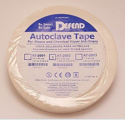 Mydent At2002 Defend Autoclave Sterilization Indicator Tape 34 60 Yards