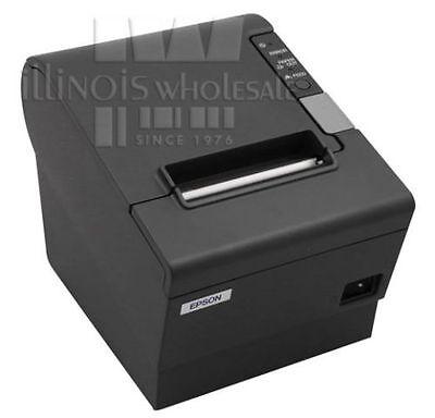 Epson Tm-t88iv Pos Thermal Printer Micros Idn Interface Dark Grey