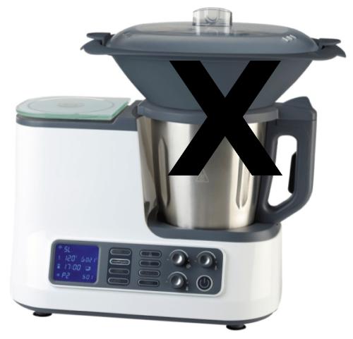 Multifunktions-Küchenmaschine mit WLAN - OHNE Zubehör - Ersatzteil -