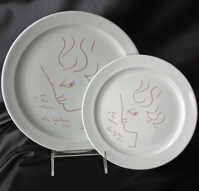 WELCOME HOTEL JEAN COCTEAU Dinner Service 2 Plates