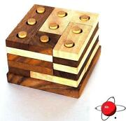 Wood Puzzle Brain Teaser
