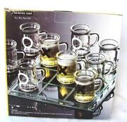 Mini Glass Beer Mugs