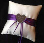 Purple Ring Cushion