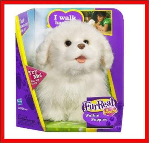 Fur Real White Dog | eBay