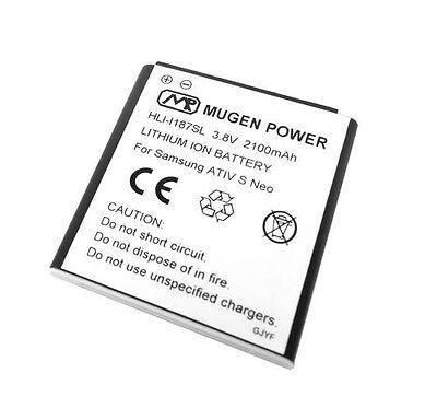Mugen Power 2100mAh Extended Battery For Samsung ATIV S Neo i800 Sprint i187 ATT