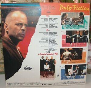 Pulp Fiction Laser Videodisc Rare Japanese Distribution London Ontario image 2