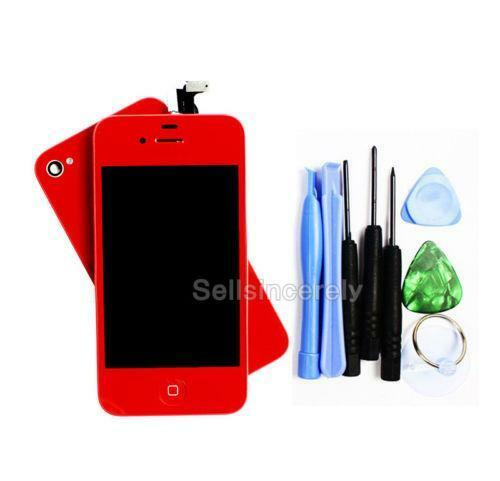 iphone red screen cell phone lcd screen for iphone 4 ebay 7467