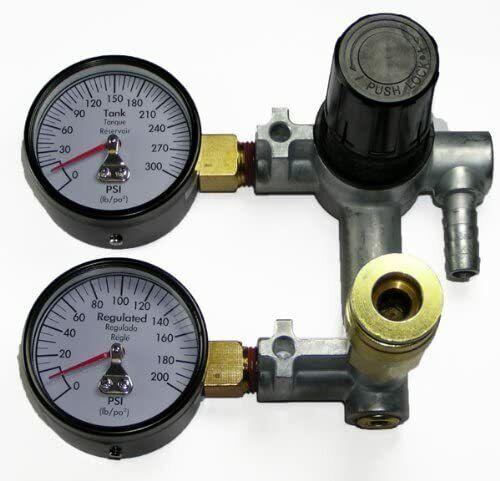 DeWalt N030566 Air Compressor Regulator Manifold Assy D55167 T1-3 & D55168 T1-5