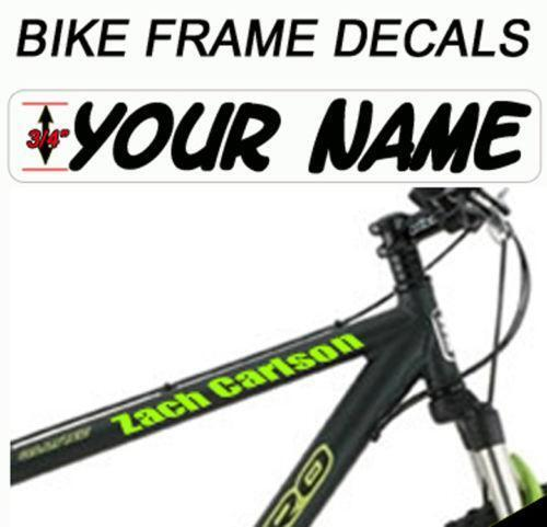 Bicycle Frame Decals Ebay