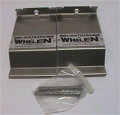 Whelen Light Bar Siren Mounting Bracket Set Model Mk1s Part 02-038132301s