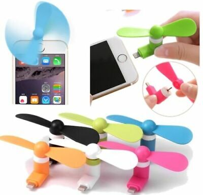 Mini Portable Power Micro Cool Fan For IPhone 7 8 X Plus Android Phone Tablet C