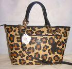 Coach Ocelot Canvas Tote Bags & Handbags for Women