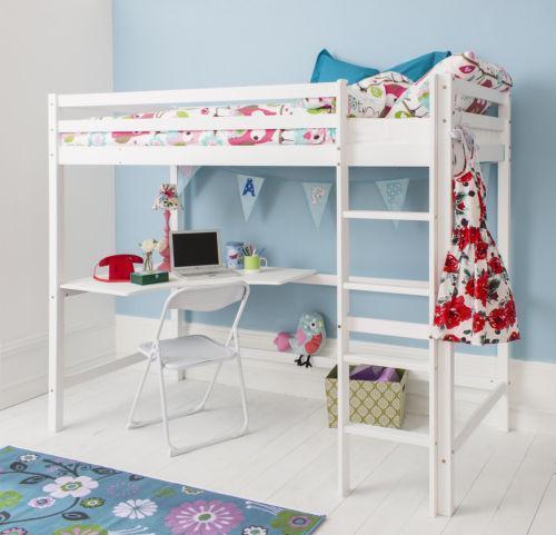 High Sleeper with Desk: Home, Furniture & DIY   eBay
