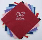 Personalised Wedding Napkins