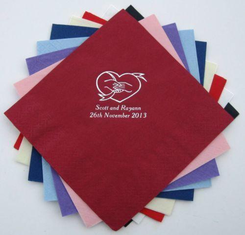 Monogram Paper Napkins Uk: Personalised Napkins