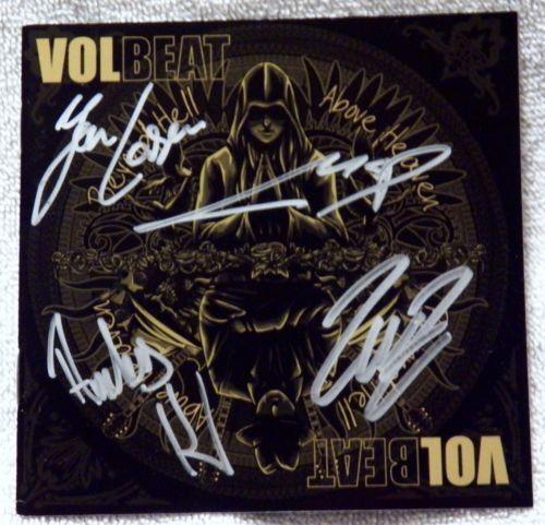 Volbeat Signed Entertainment Memorabilia Ebay