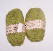 Lime Green Yarn