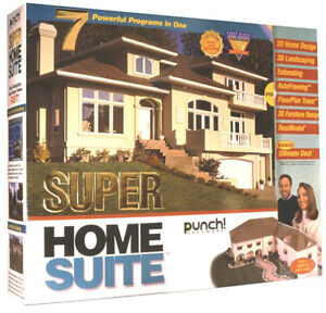 SUPER HOME SUITE - 7 POWERFUL PROGRAMS IN 1 by PUNCH Software