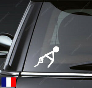 sticker autocollant humour essence trop chere carburant pour voiture tuning etc ebay. Black Bedroom Furniture Sets. Home Design Ideas