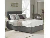 BRAND NEW / * PYRO BEDS LTD**BRAND NEW DOUBLE BED WITH SUPREME MATTRESS / UK DELIVERY***