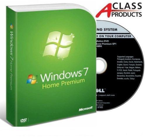 microsoft windows 7 home premium 32 bit full version ebay. Black Bedroom Furniture Sets. Home Design Ideas